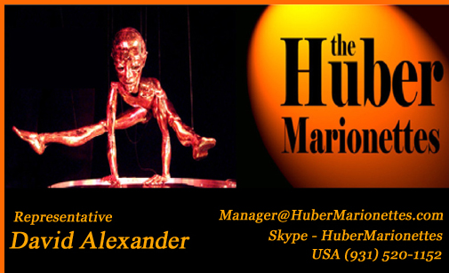 THM Contact - Manager@HuberMarionettes.com